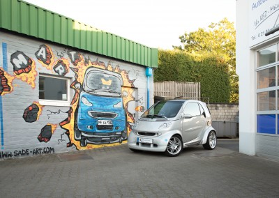 Smart Graffiti Innenhof
