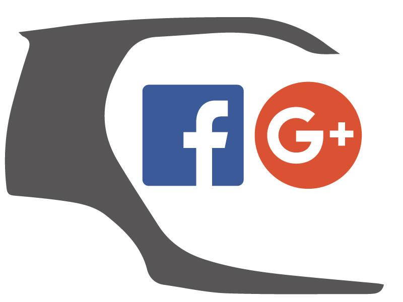 Wird sind jetzt auch offiziell bei Facebook und Google+