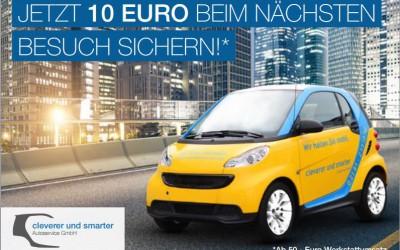 Jetzt 10 Euro beim nächsten Besuch sichern!