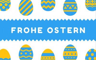 Frohe Ostern – Samstag geschlossen