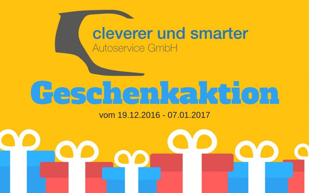 Geschenkaktion – Original Smart Kulturtasche zu jeder Wartung gratis  (19.12.2016 – 07.01.2017)