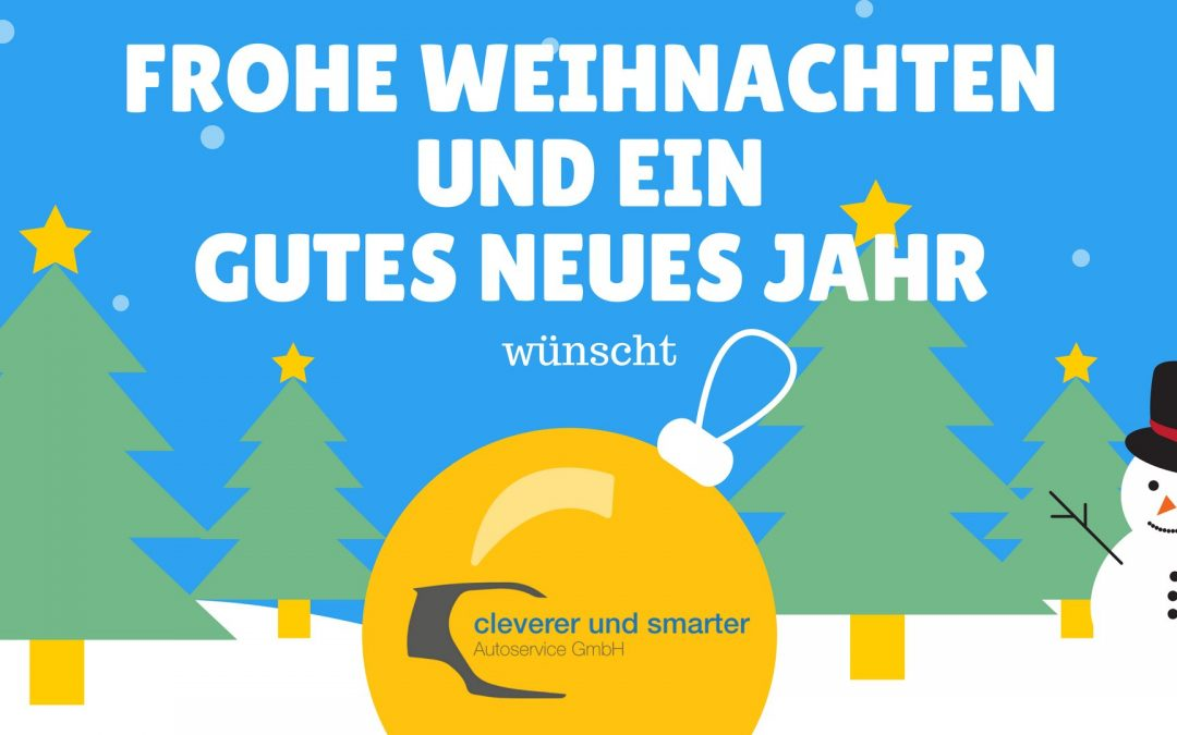 Frohe Weihnachten und ein gutes neues Jahr ! (Winterurlaub – Öffnungszeiten)