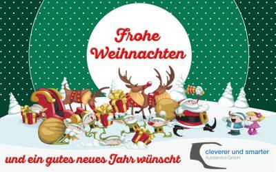 Frohe Weihnachten und ein gutes neues Jahr 2018 !