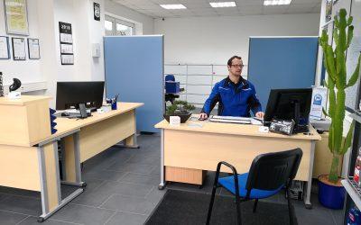 Wir haben renoviert – Annahme- und Bürobereich in neuem Glanz