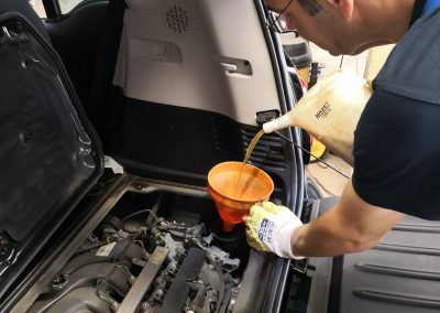 Ölwechsel Smart 453