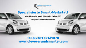Spezialisierte Smart-Werkstatt - Alle Smart Modelle inkl. Elektro