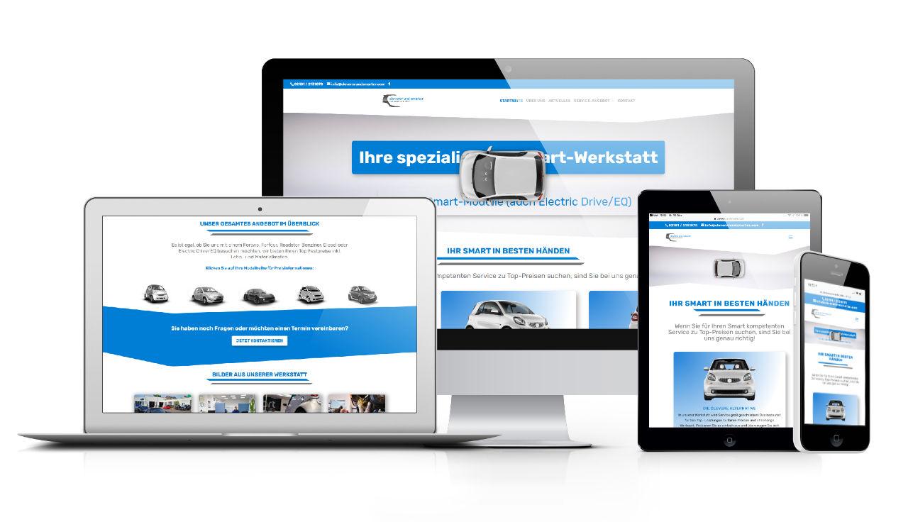 Unsere neue Webseite - Smart Werkstatt im Rhein Kreis-Neuss