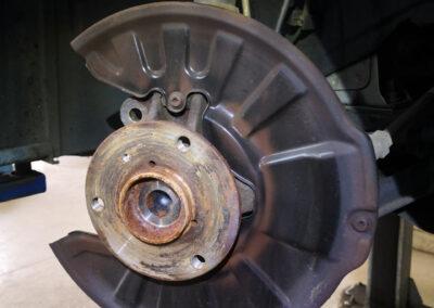 Bilder aus unserer Smart Werkstatt - Bremsen