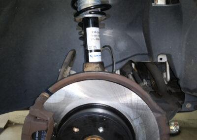 Bilder aus unserer Smart Werkstatt - Bremsscheibe neu