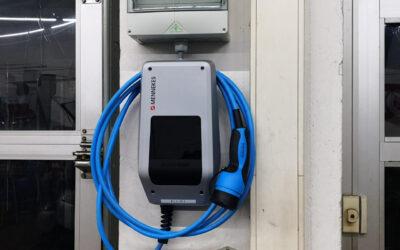 Unsere neue Wallbox/Ladestation für Kunden mit E-Smart (EQ/Electric Drive) steht bereit