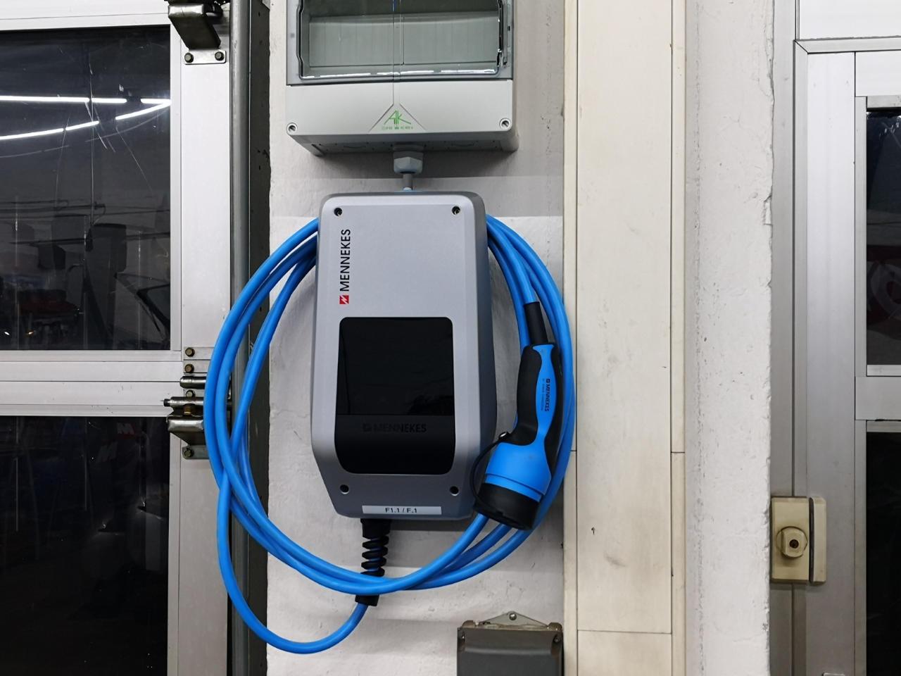 Wallbox für E-Smarts (EQ/Electric Drive) - Ladestation für unsere Kunden mit E-Smart